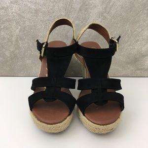 5/50 Skechers | Wedge Heel Open Toe Sandals GUC